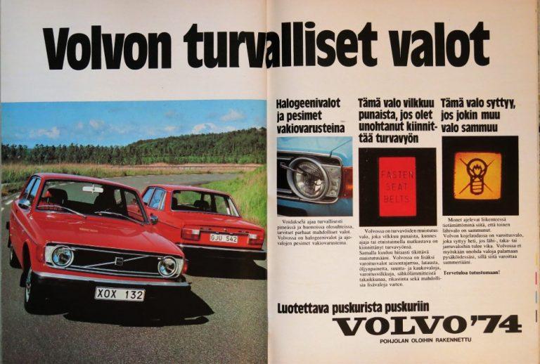 Päivän automainos: Volvon turvalliset valot