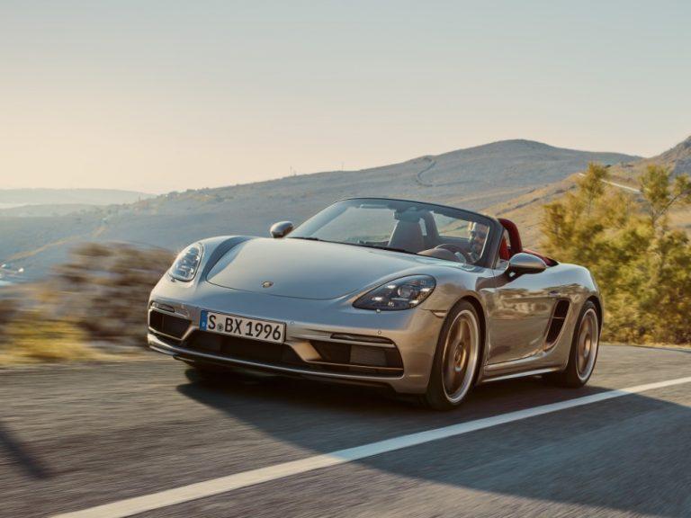 Porsche tekee kunniaa vuoden 1993 Boxster-konseptille — markkinoille rajoitetun erän juhlamalli