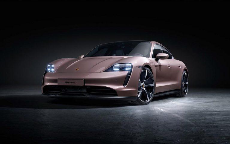 Porsche julkisti edullisemman takavetoisen Taycan-mallin