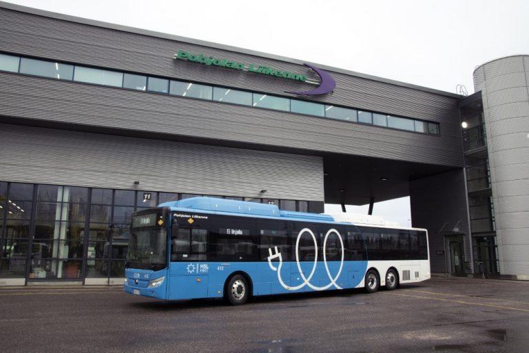 Isommat sähköbussit liikenteeseen