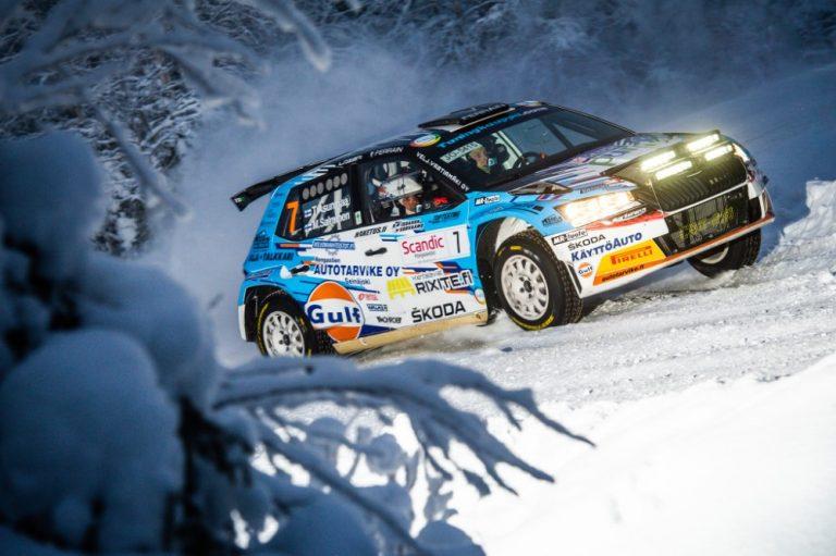 Juho Hänninen ajoi Tunturirallin voittoon, Teemu Asunmaa oli SM-sarjan nopein