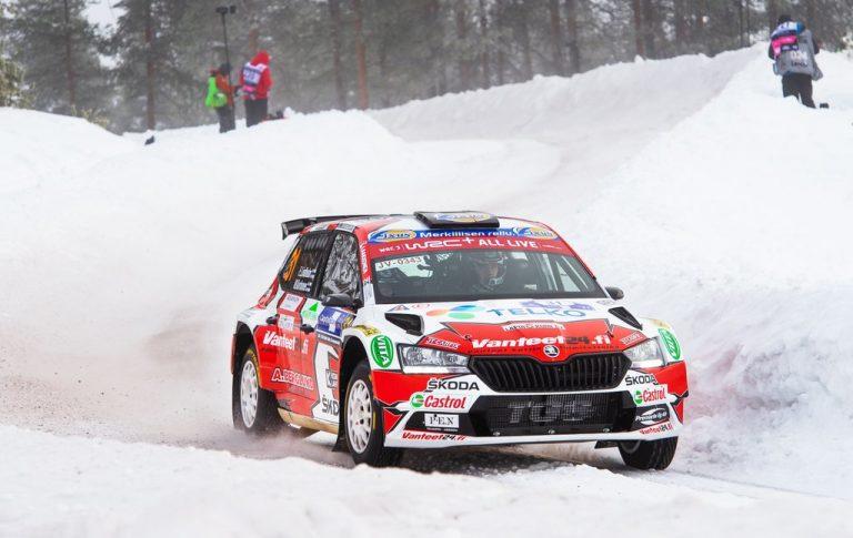 WRC: Suomalaiset kärjessä sekä WRC2- että WRC3-luokissa