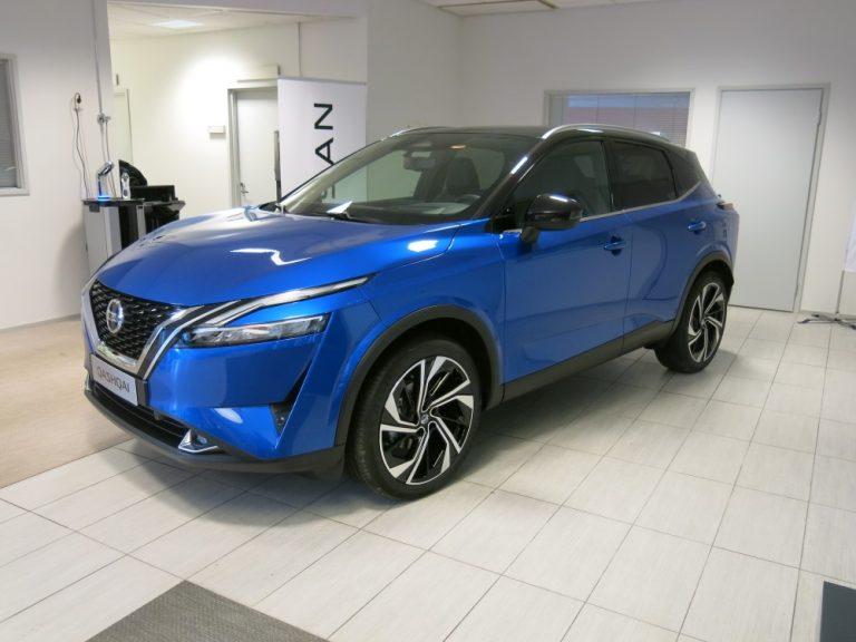 Uusi Nissan Qashqai julkistettiin tänään — katso tästä ensimmäiset kuvat