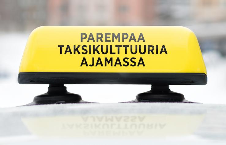 Keskiviikkona pääkaupunkiseudulla, Rovaniemellä ja Oulussa tarjolla ilmaisia taksikyytejä!
