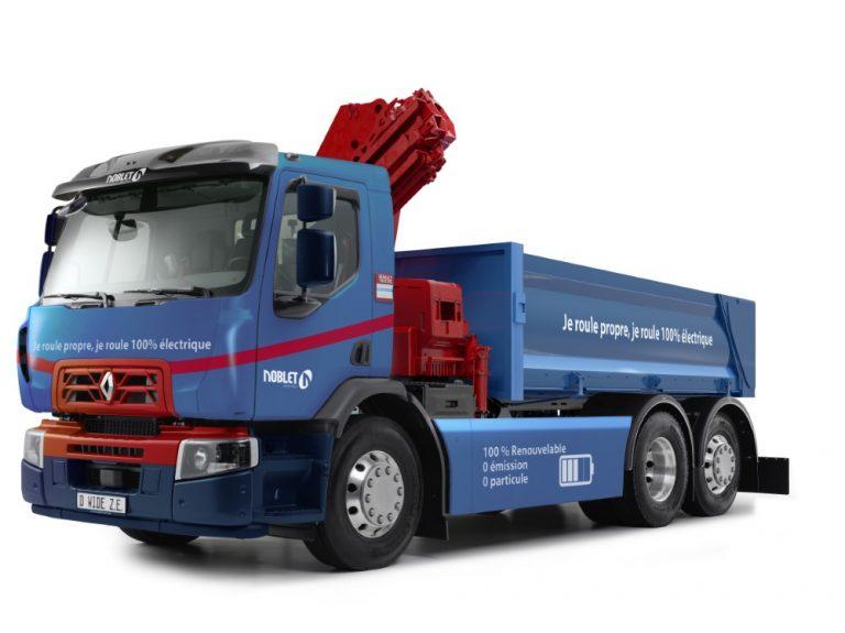 Renault Trucks toimittaa ensimmäisen työmaakäyttöön tarkoitetun täyssähkökuorma-auton