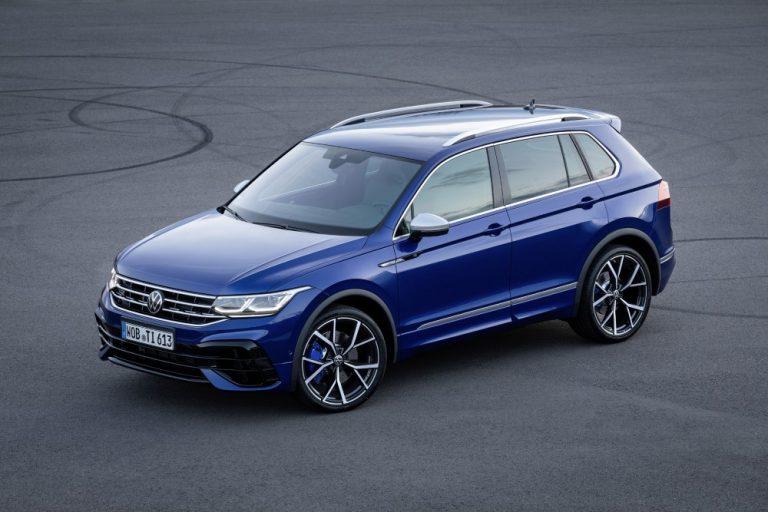 Volkswagenin Tiguan-mallistoon kuuluu nyt huipputehokas R-versio