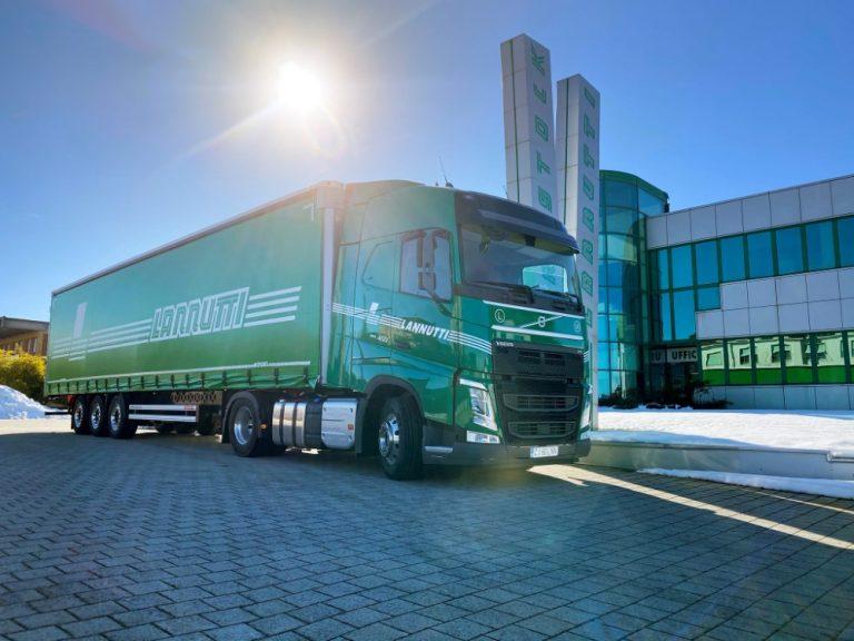 Italialaiselta kuljetusliikkeeltä jättimäinen Volvo FH I-Save -tilaus