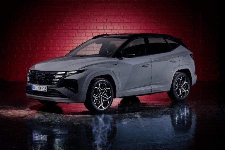 Hyundai tuo keväällä Tucson-mallista lataushybridin ja N Line -mallin
