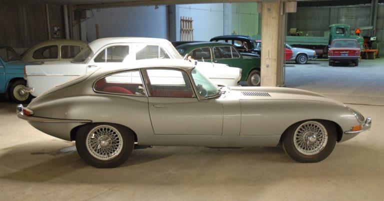 Historian havinaa: Ikoninen Jaguar E-type 60-vuotta!