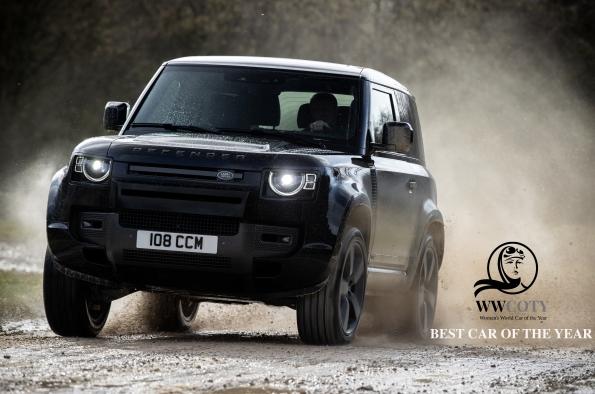 Land Rover Defender on naistoimittajien valinta vuoden parhaimmaksi autoksi
