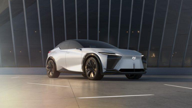 Tällainen on Lexus LF-Z Electrified -konseptimalli