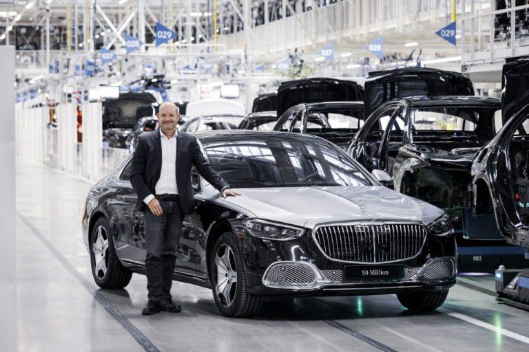 Mercedes-Benzin Sindelfingenin tehtaalla saavutettiin merkittävä rajapyykki!
