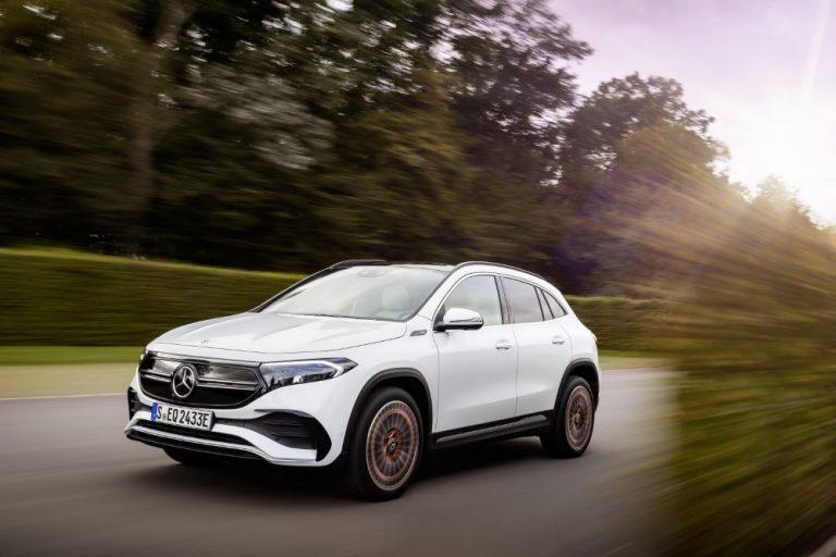 Mercedes-Benz EQA-sähköautoon saa valtion hankintatuen