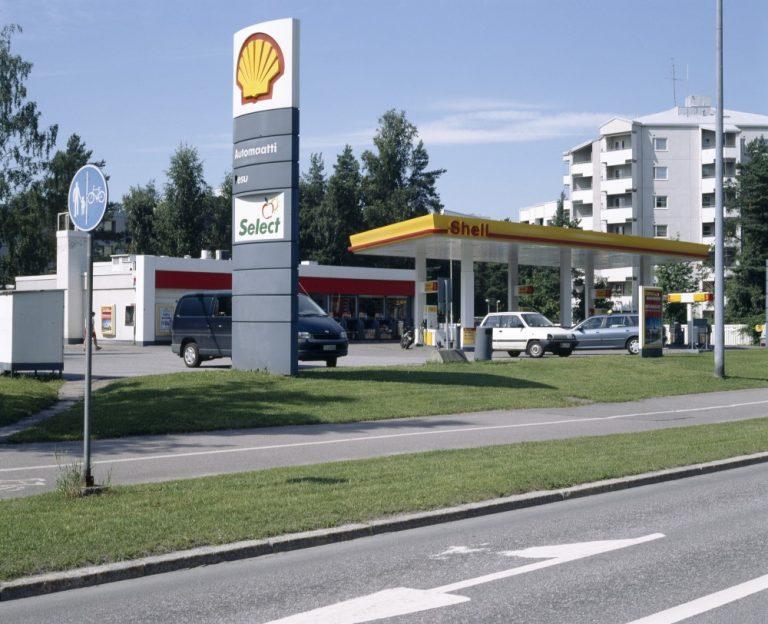 Päivän huoltoasema: Shellin Vuosaaren huoltamo