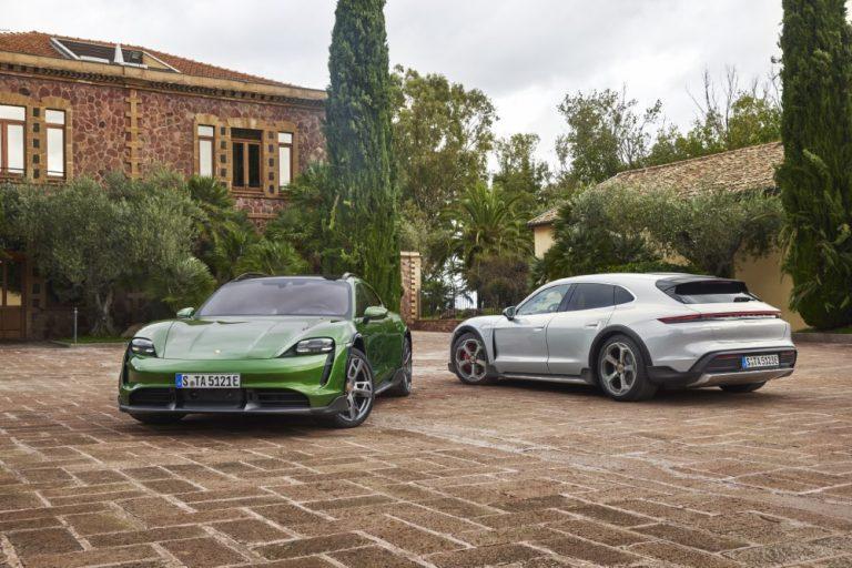 Porsche julkisti tänään Porsche Taycan Cross Turismo -mallin — halvin versio maksaa 101 086 €