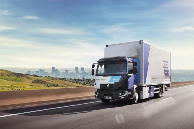 Kahden vuoden kuluttua Renault Trucks tarjoaa sähköajoneuvoja kaikissa markkinasegmenteissä