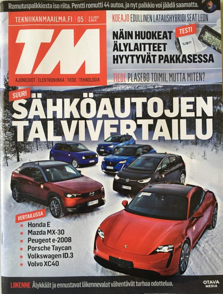 TM:n tämän vuoden talvisähköauto on valittu — hintaero kakkoseen melkein 100 000 euroa!