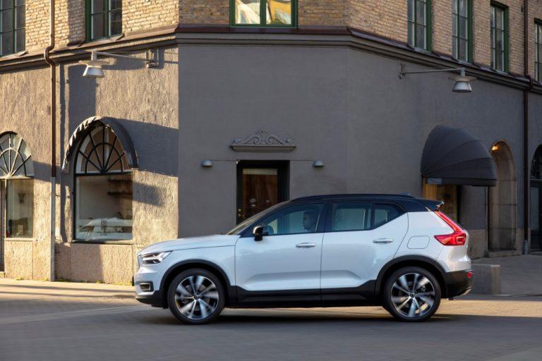 Nyt Volvo XC40 Recharge -täyssähköauton voi hankkia verkon kautta