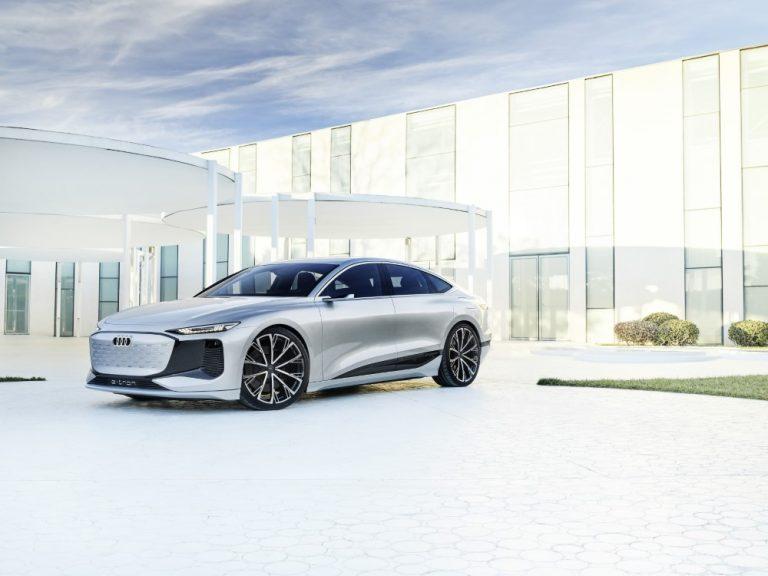 Audi esittelee Shanghaissa täyssähköisen luksusluokan Sportback-konseptiauton
