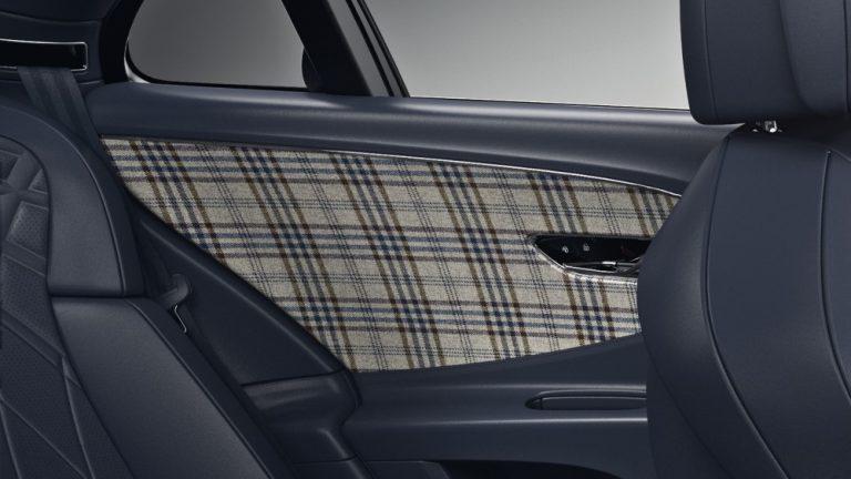 Nyt Bentley-mallistoon on tarjolla tweed-sisustus