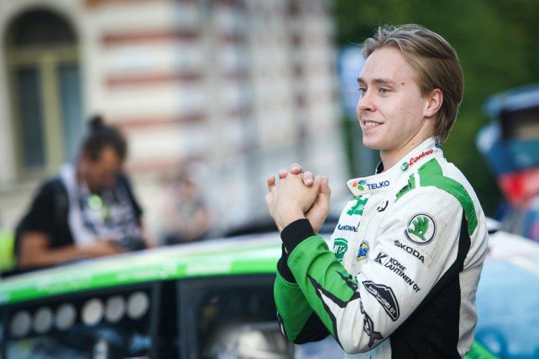 WRC: Emil Lindholm WRC3-luokan MM-sarjaan