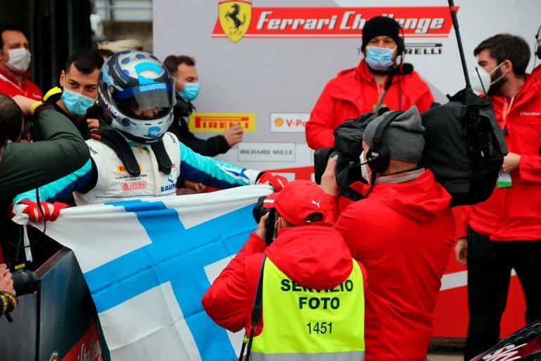 Luka Nurmi teki historiaa Ferrari-sarjan avauksessa