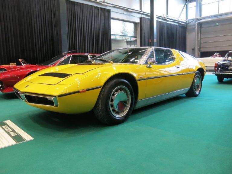 Päivän urheiluauto: Maserati Bora 1973