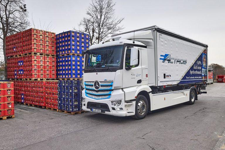 Täyssähköisen Mercedes-Benz eActros -auton tuotanto alkaa loppuvuonna