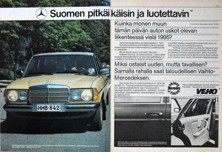Päivän automainos: Suomen pitkäikäisin ja luotettavin