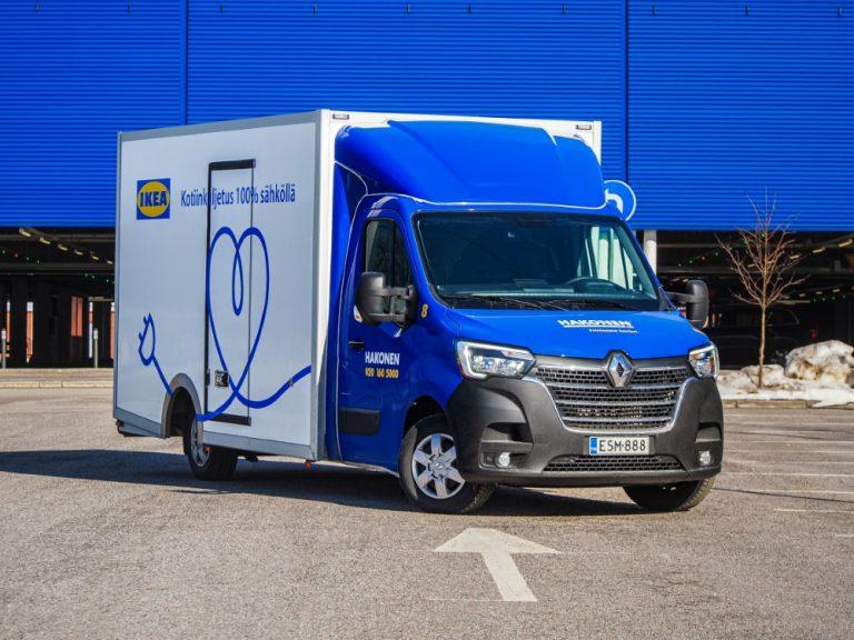 Ikea tarjoaa nyt myös pääkaupunkiseudulla päästöttömiä kotiinkuljetuksia