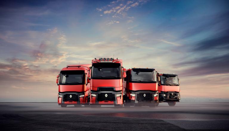 Renault Trucks päivittää T-, T High-, C- ja K-sarjat