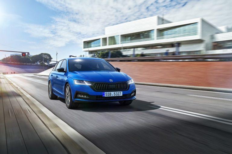 Uusi Škoda Octavia tarjolla Sportline-malliversiona