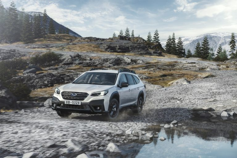 Subaru Outbackin kuudes sukupolvi Suomeen toukokuussa