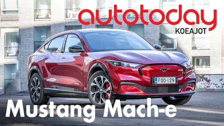 Autotoday testasi: Ford Mustang Mach-e — nimeämisessä käynyt virhe?