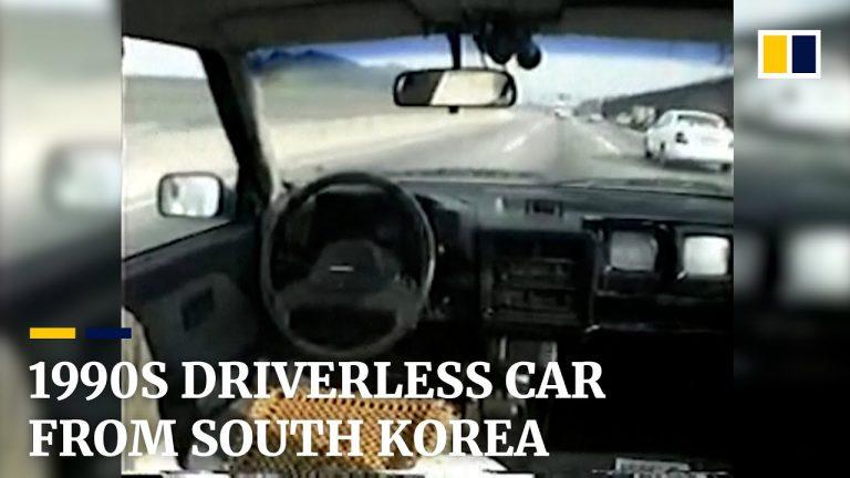Video: Tällainen robottiauto oli olemassa Etelä-Koreassa jo 1990-luvulla