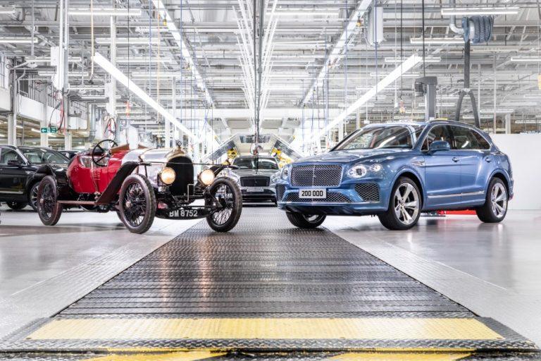 Bentley on yli satavuotisen historiansa aikana valmistanut yli 200 000 luksusautoa