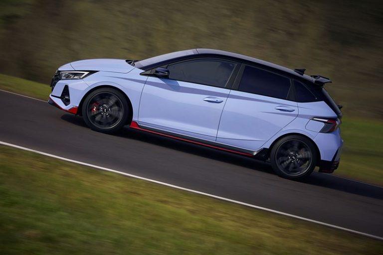 Hyundain i20-mallistoon urheilullinen i20 N