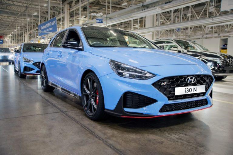 Uuden Hyundai i30 N -mallin tuotanto käynnistyi Euroopassa