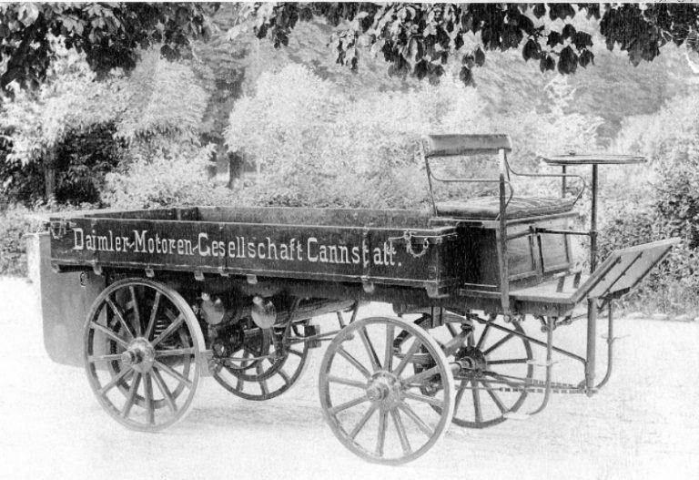 Historian havinaa: Maailman ensimmäisestä kuorma-autosta 125 vuotta