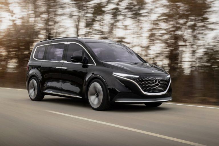 Mercedes-Benz tuo uuden T-luokan — sähköautokonsepti EQT antaa viitteitä tulevasta