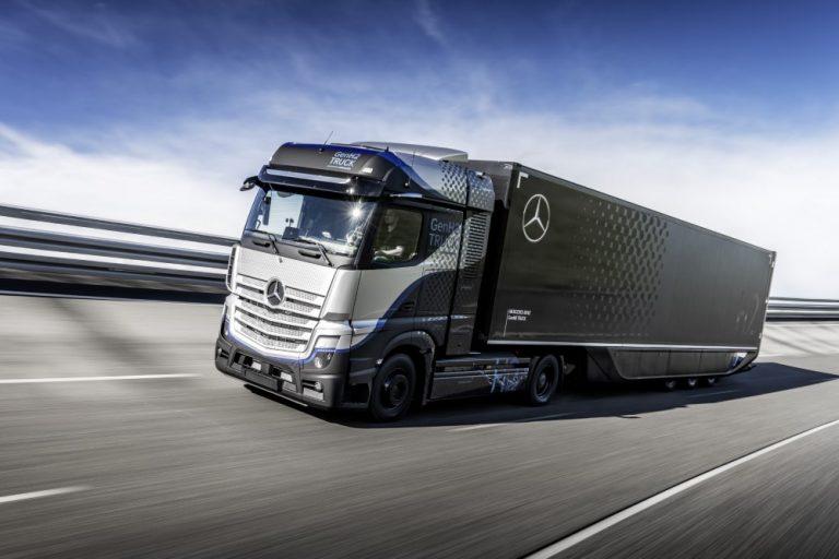 Mercedes-Benz aloittaa raskaan vetykuorma-auton käyttötestit