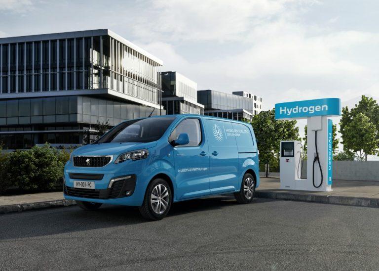 Peugeot tuo jo tänä vuonna Expert-mallistaan sarjavalmisteisen polttokennoversion Euroopan markkinoille