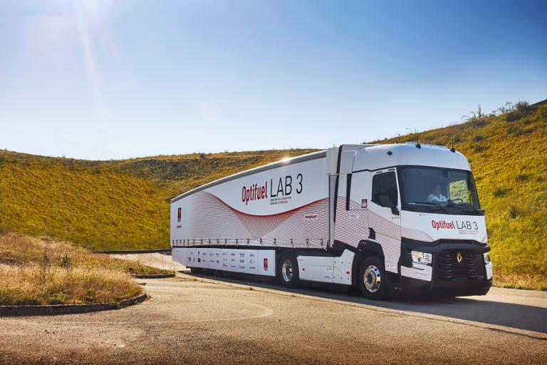 Renault Trucksin Optifuel Lab 3 -konseptiauton kulutus on nyt julkistettu
