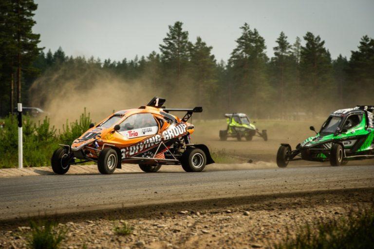 Jami Kalliomäki jatkoi erinomaisia otteita kauden toisessa Crosskart SM -osakilpailussa Honkajoella