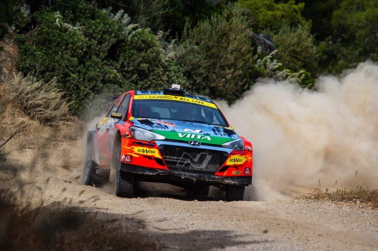 """Sardinian MM-rallin WRC2-luokan voittaja Jari Huttunen: """"Emme todellakaan ajaneet täysillä"""""""