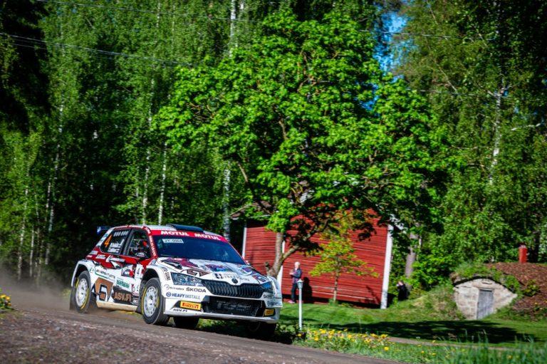 Kauden neljäs Ralli SM -sarjan kisa ajetaan Pohjanmaalla