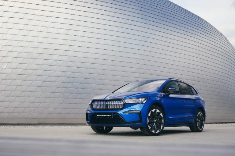 Škoda Enyaq Sportline iV- ja nelivetoiset 80x-mallit nyt ennakkomyynnissä