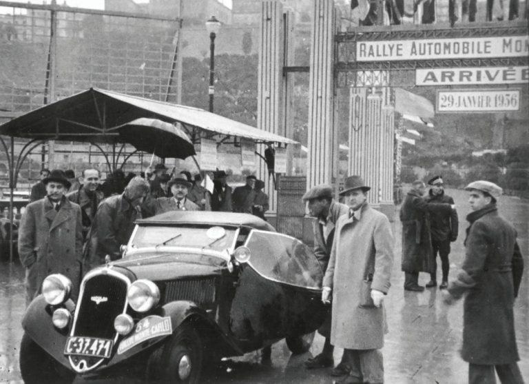 Historian havinaa: Tällaisella Skodan roadster-mallilla osallistuttiin 1936 Monte Carlo -ralliin