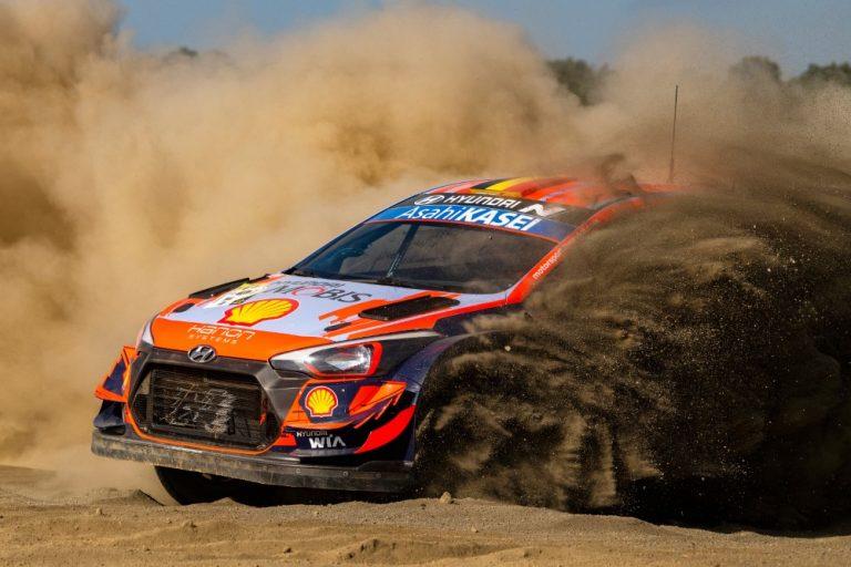 WRC: Neuville Safarirallin kärjessä aamupäivän jälkeen — Rovanperä ottaa varman päälle