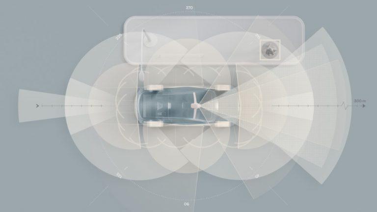 Volvo Carsin tuleva täyssähköinen SUV-lippulaivamalli sisältää vakiona uutta turvallisuusteknologiaa